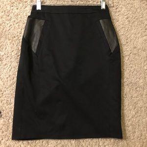 Kooples black miniskirt, size 34